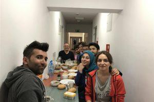 Kurum Koordinatörümüzün Polonya'daki öğrencilerimizle iftar buluşması..
