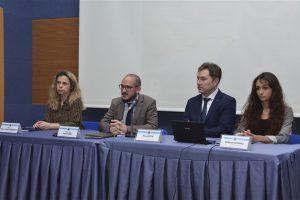 """09 Mayıs 2019 tarihinde Üniversitemizde """"Değişim Programlarını Anlamak; ERASMUS"""" Paneli düzenlendi."""