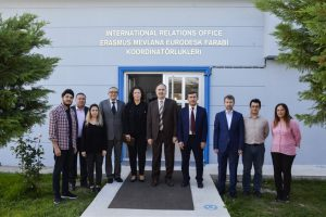 Rektörümüz, Erasmus Binasını ve Misafirhanesini İnceledi